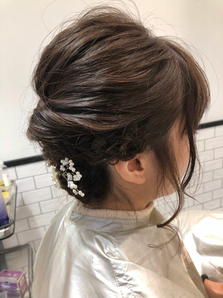 MINX銀座五丁目 トップデザイナー大人可愛いヘアアレンジ