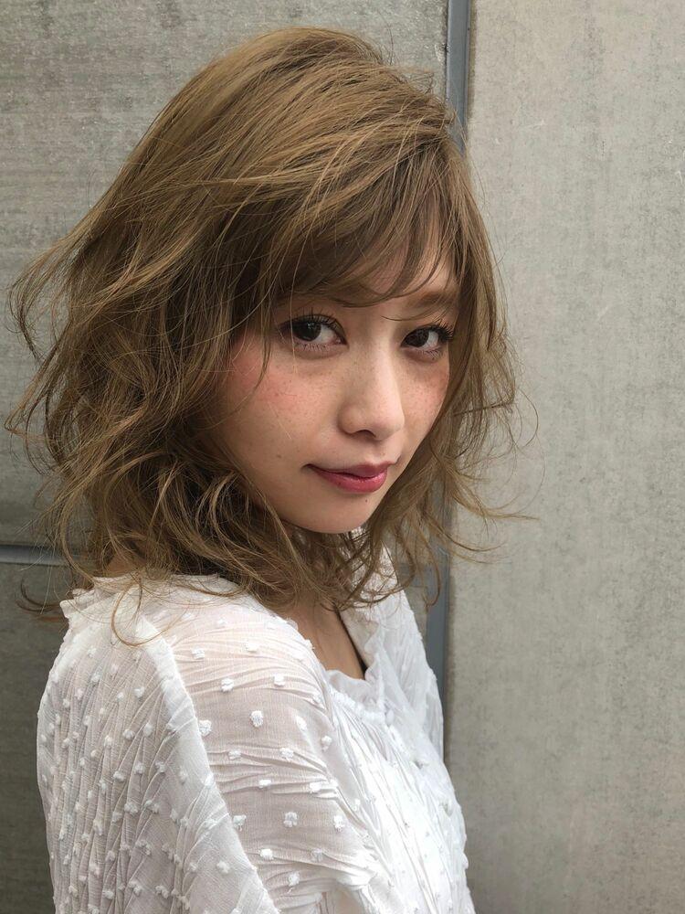 MINX銀座五丁目店 トップデザイナー佐々木 隆成小顔効果抜群!外ハネくびれミディ!