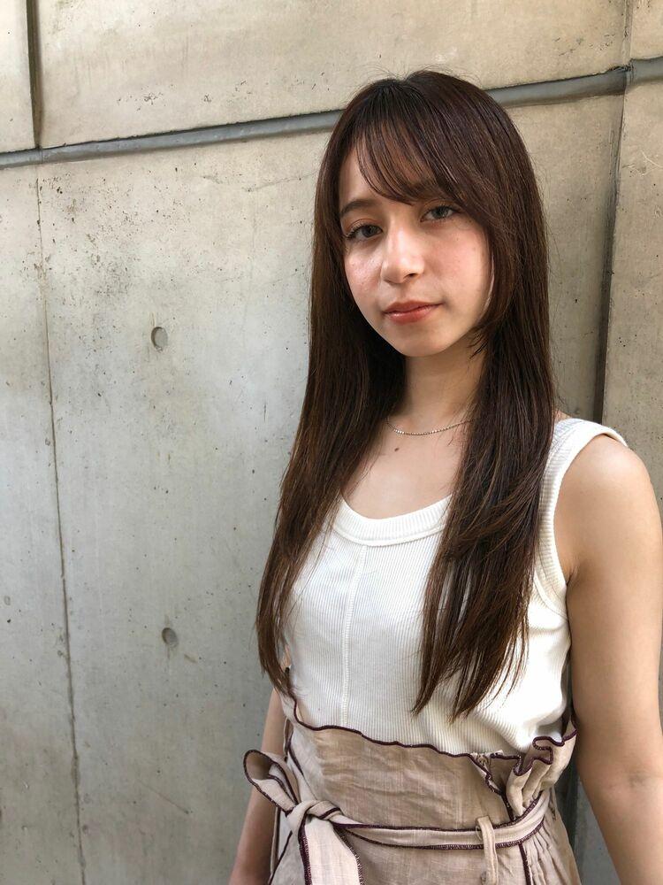 MINX銀座五丁目 トップデザイナー大人可愛い小顔に見えるレイヤースタイル!