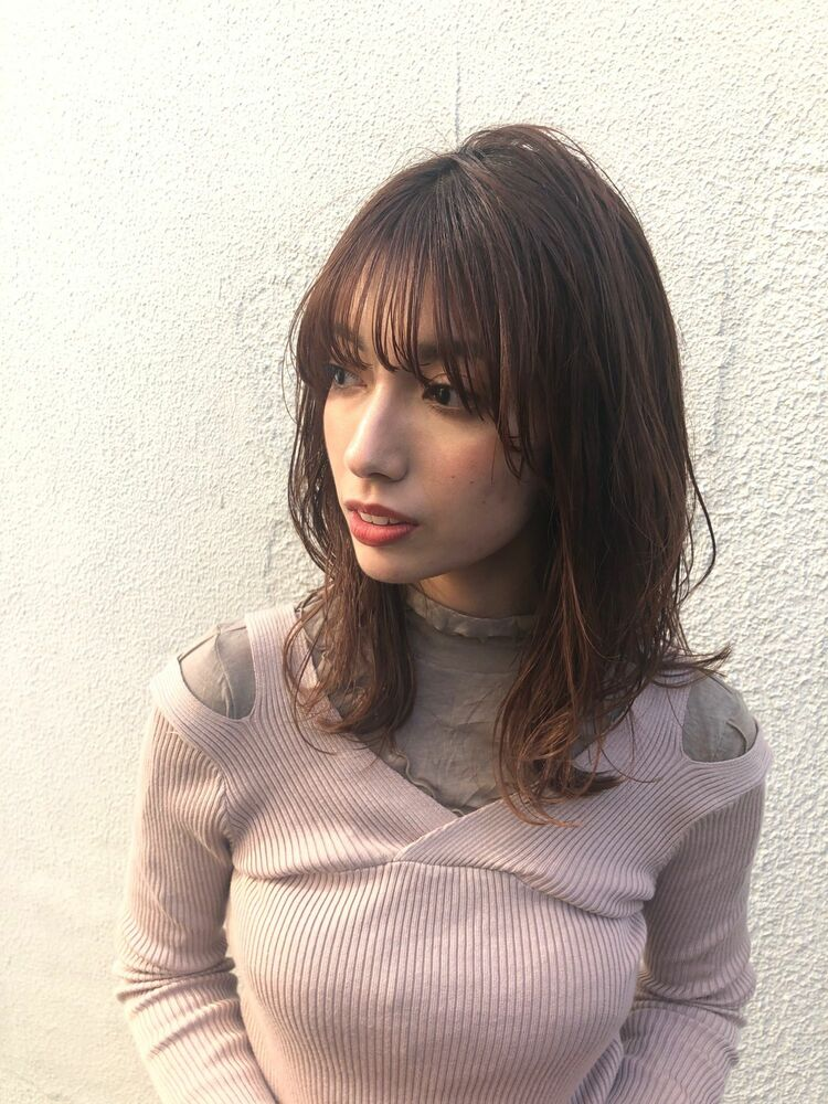 MINX 銀座五丁目 トップデザイナー 大人可愛いゆるふわパーマ!