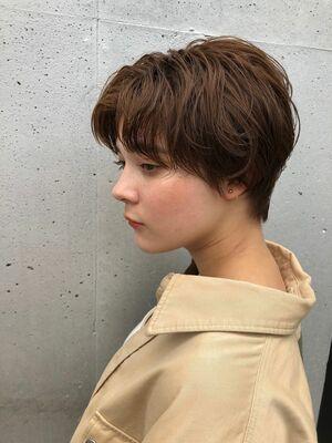 MINX銀座五丁目店 トップデザイナー 大人可愛いお洒落ハンサムショート!