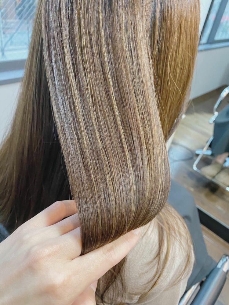 トリートメントでツルツルの美髪に!