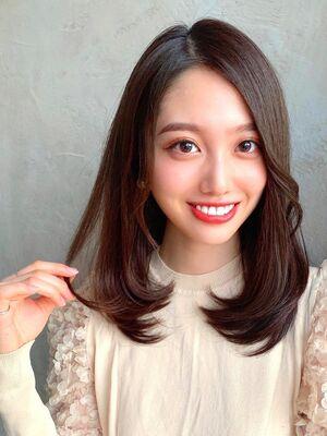 新宿 アフロート 暗髪大人きれいヘア
