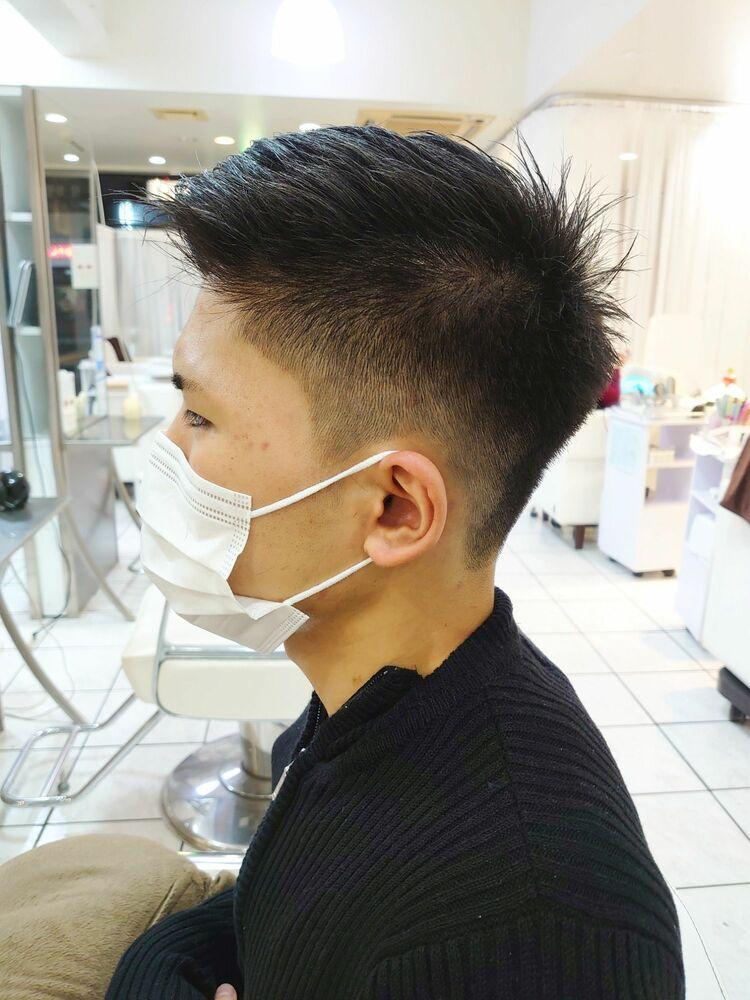 ビジネス刈り上げヘア