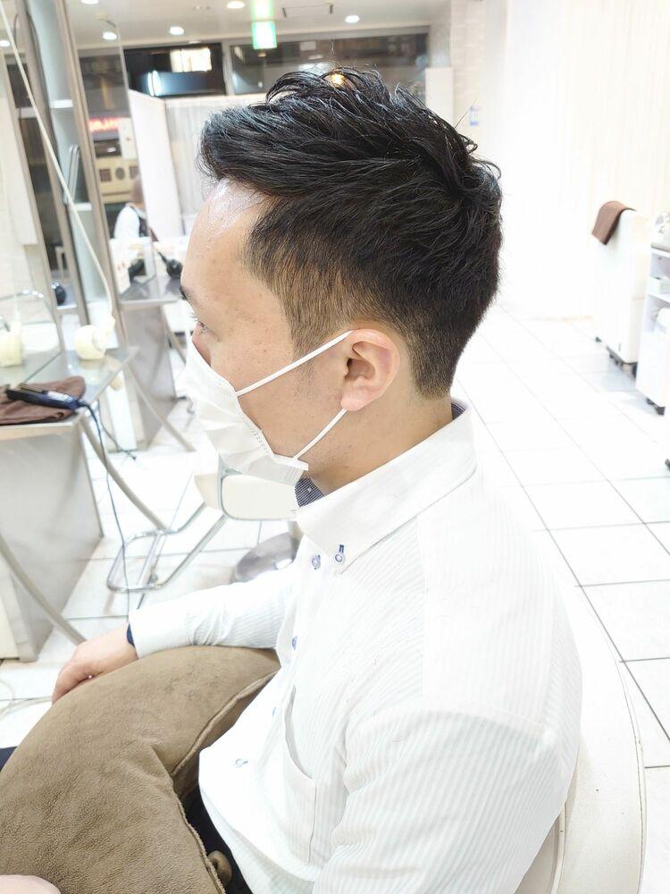 メンズビジネスヘア