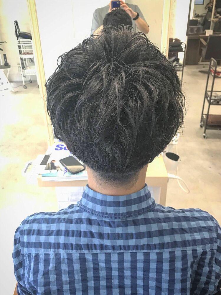 〜刈り上げマッシュパーマ〜