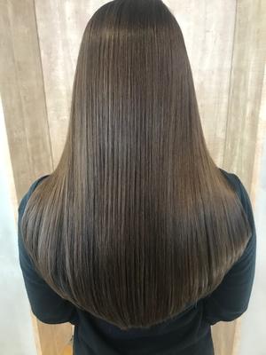 髪質改善トリートメント×ロングレイヤー