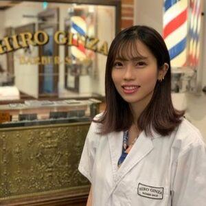 ヘアサロン:HIRO GINZA BARBER SHOP 新宿店 / スタイリスト:吉澤 咲那のプロフィール画像