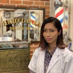 ヘアサロン:HIRO GINZA BARBER SHOP 新宿店 / スタイリスト:吉澤 咲那