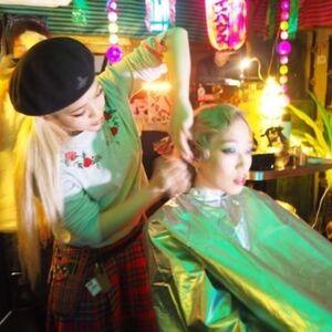 ヘアサロン:ALESINTERNATIONAL / スタイリスト:派手髪美容師 宮平安奈