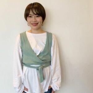 ヘアサロン:ungu hair labo / スタイリスト:降矢 陽香
