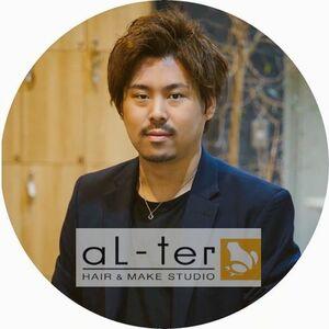 ヘアサロン:aL-ter 鎌取 / スタイリスト:市原徹のプロフィール画像