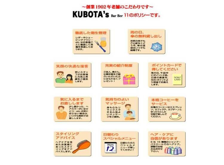 KUBOTA's BarBer