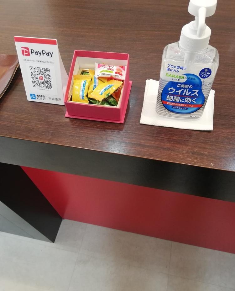 hair salon KAWASEの衛生情報の画像