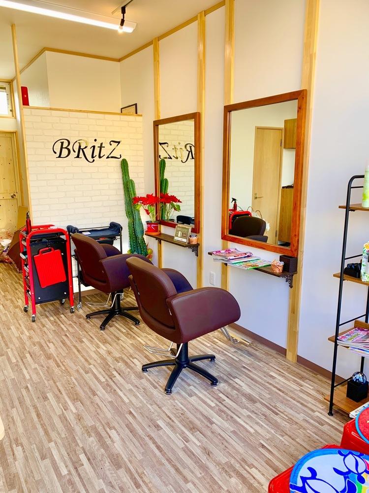 Hair space BRitZの内観の画像