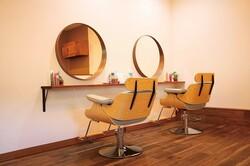 Hair salon uluの内観の画像