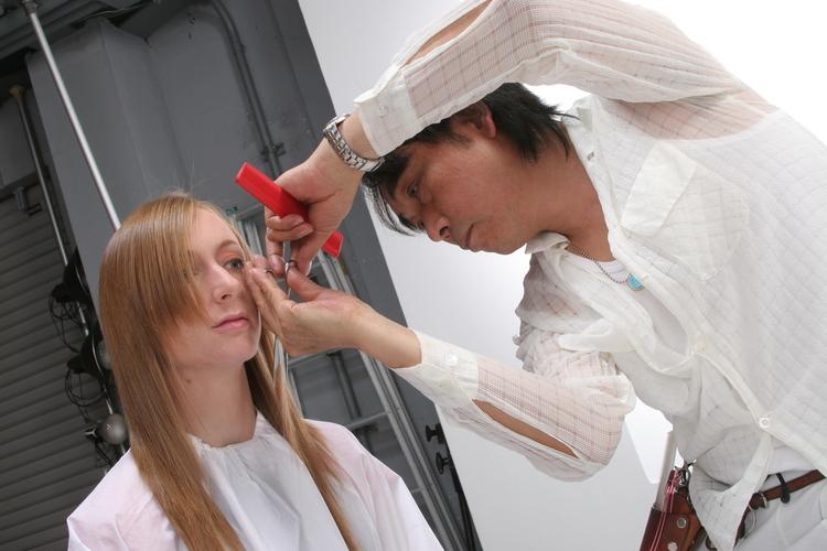美容室クラブヘアの画像