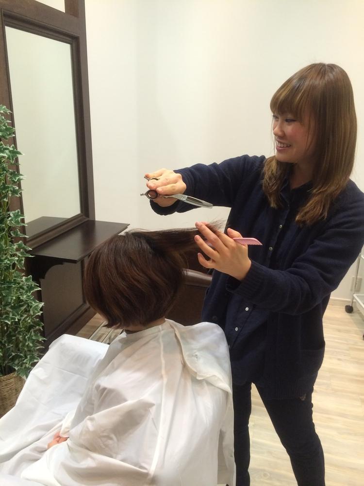 hair☆omotesando東砂店の内観の画像