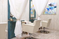 Umineko美容室センター北店の内観の画像