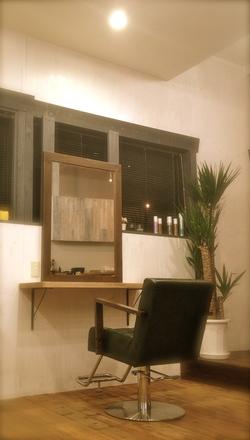 fam hair salonの内観の画像