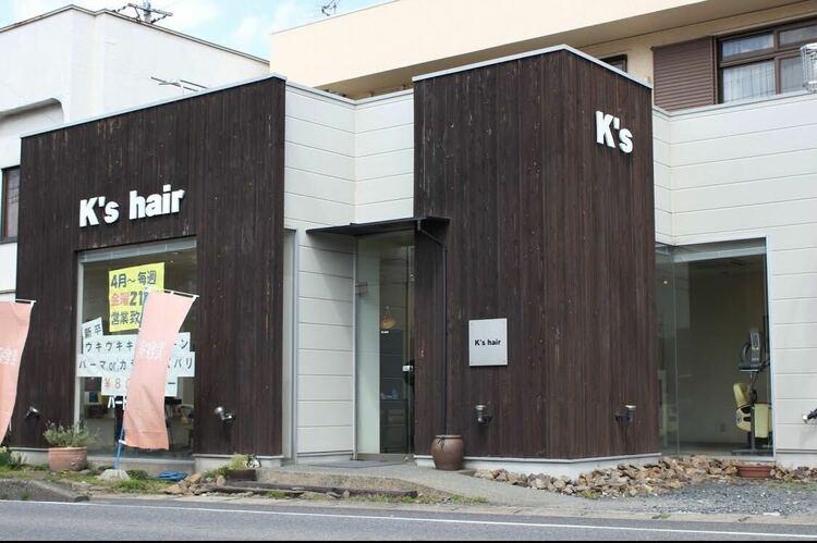 K's hairの画像
