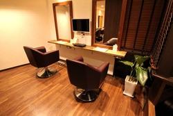 hair room motenaの内観の画像