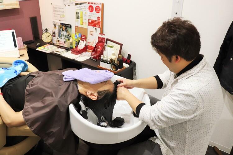 Men's hair Design OSHIMA