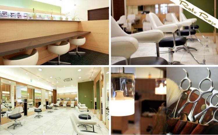 美容室ローテローゼ 小山城東店の画像