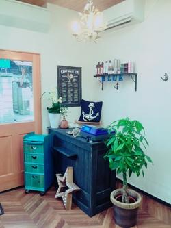 美容室BLUEの内観の画像