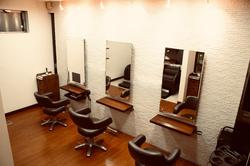 Loren hair salonの内観の画像